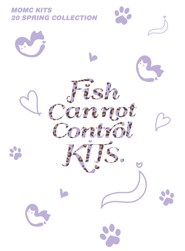 MOMC KITS 20 SPRING COLLECTION 'FISH CAN NOT CONTROL KITS'