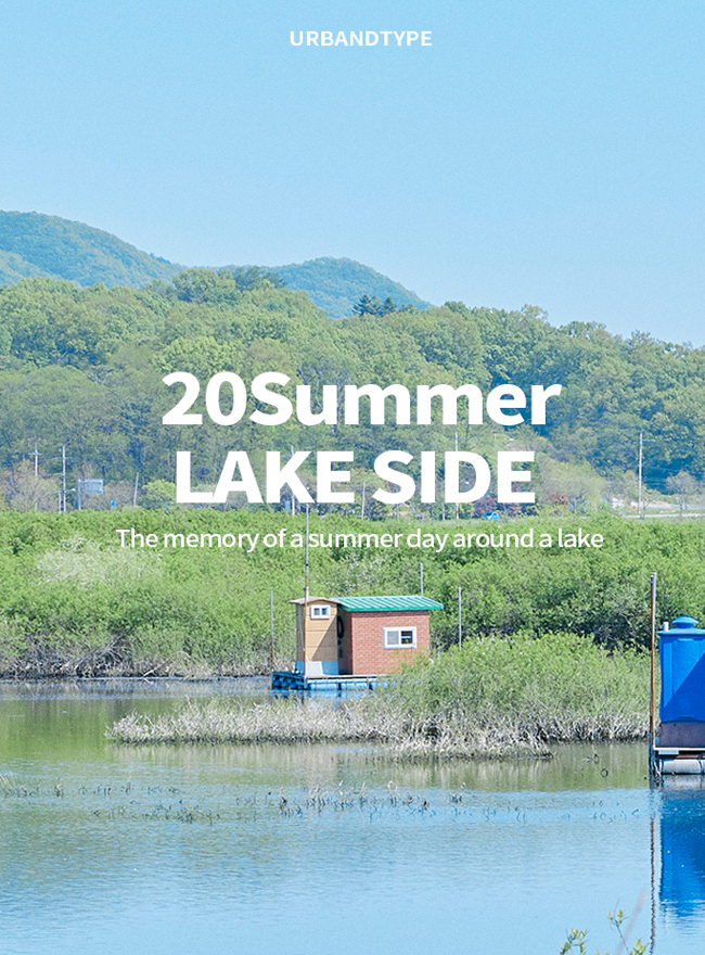 URBANDTYPE 20SUMMER COLLECTION  'LAKE SIDE'