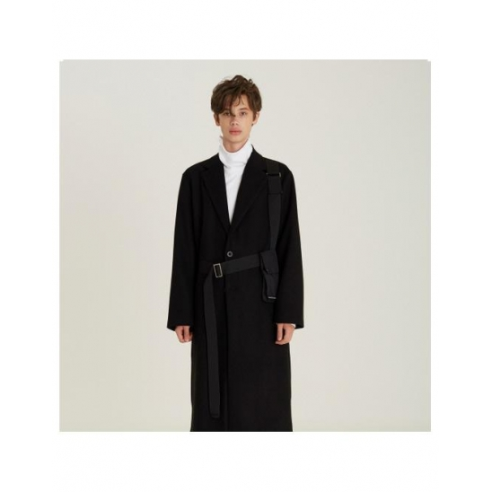 Belt Pocket Single Coat (BK)