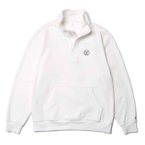 DF HALF ZIP-UP FLEECE(IVORY)