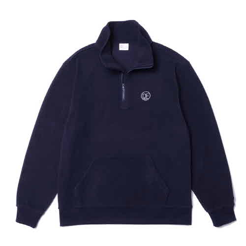 DF HALF ZIP-UP FLEECE(NAVY)