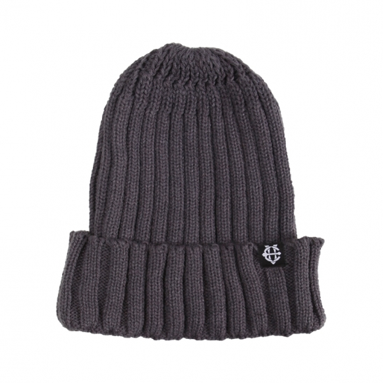 [에잇볼륨]EV Plain Pop Beanie (Gray)