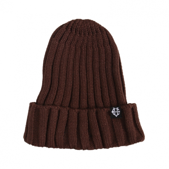 [에잇볼륨]EV Plain Pop Beanie (Brown)