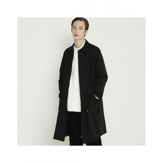 [트라이투톡]T38F RAGLAN MAC COAT_BLACK
