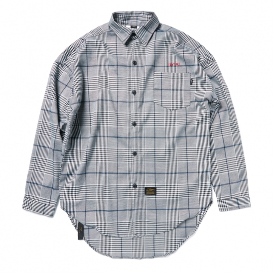 BrTW OVERSIZED SHIRTS GLEN CHECK