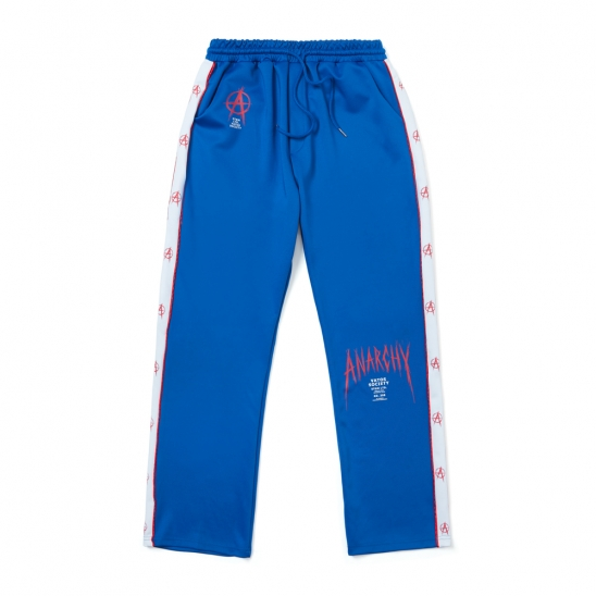 ANARCHY WIDE PANTS BLUE