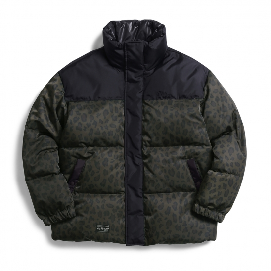 Leopard Goose Down Jacket