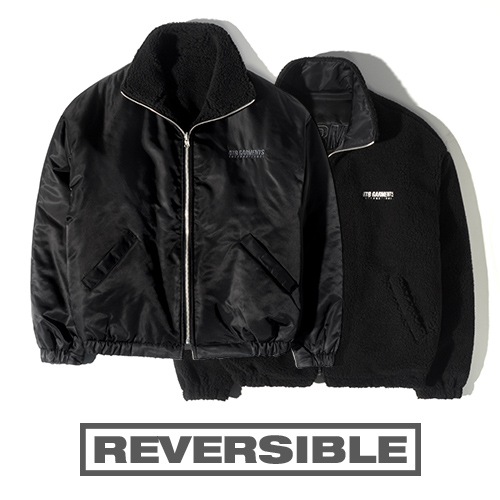 HT Fleece Reversible JK (Black)