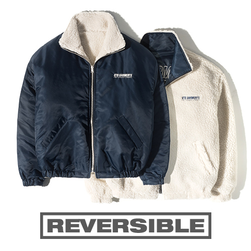 HT Fleece Reversible JK (Navy)