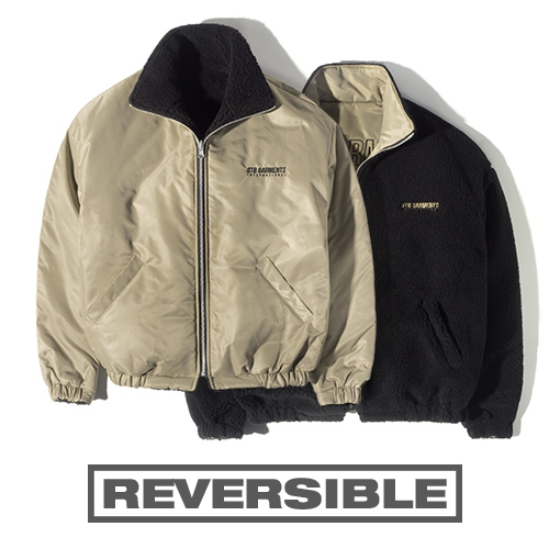 HT Fleece Reversible JK (Beige)