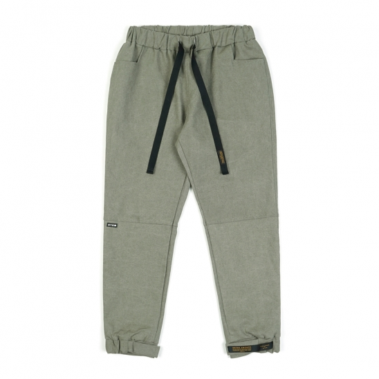 STGM OXFORD WIDE JOGGER PANTS OLIVE