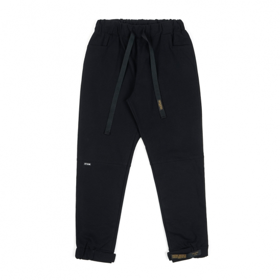 STGM OXFORD WIDE JOGGER PANTS BLACK