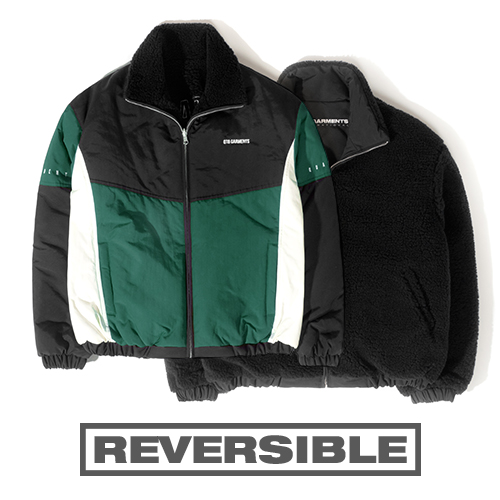 HT Old Track Reversible JK (Green)
