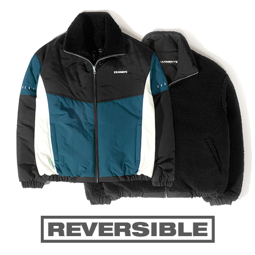 HT Old Track Reversible JK (Deep Blue)