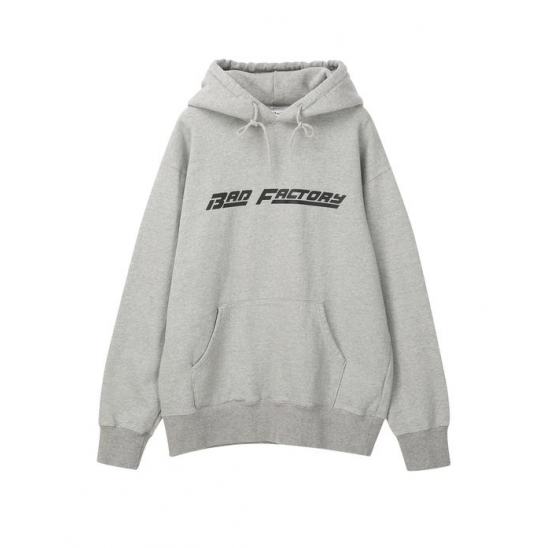 배드팩토리 BAD FACTORY RACING LOGO HOODIE 그레이