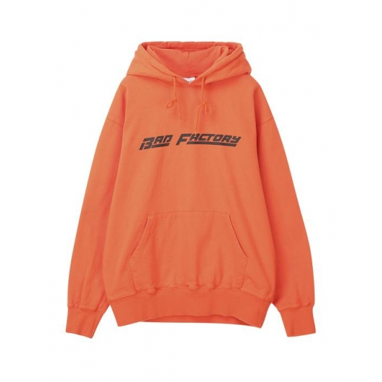 배드팩토리 BAD FACTORY RACING LOGO HOODIE 오렌지
