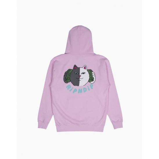 Money Talks Hoodie Light Pink