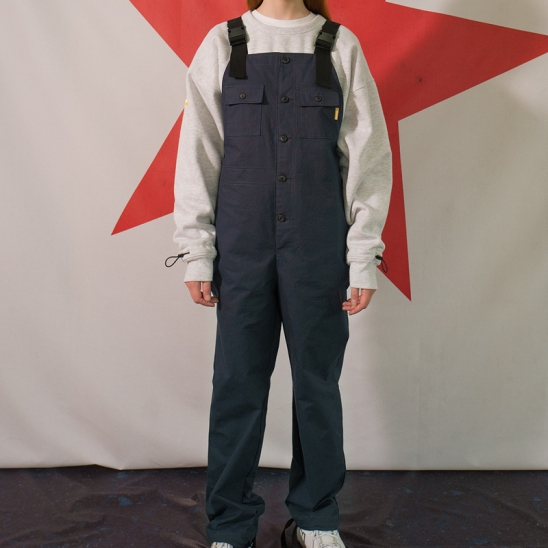8F Suspender Buckle Pants(NAVY)