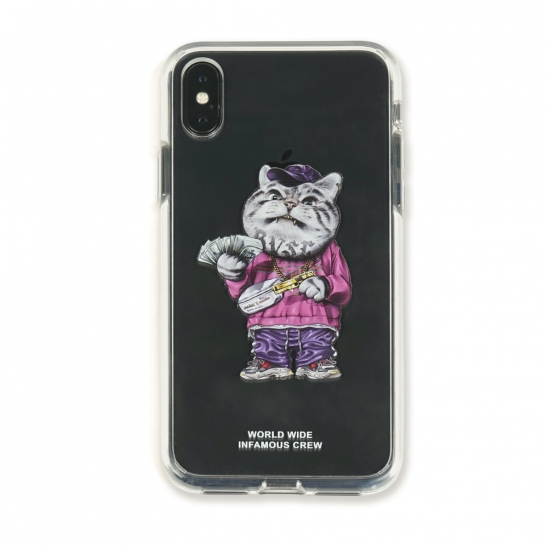 PHONE CASE CATSGANG CLEAR iPHONE Xs / Xs MAX / Xr