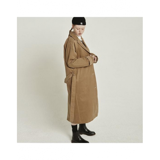 MG8F PEACH TRENCH COAT_BROWN