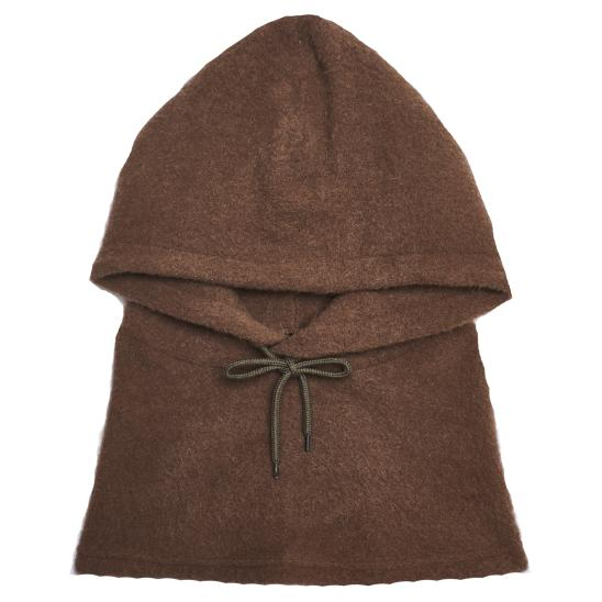 HOOD NECK WARMER (BROWN)