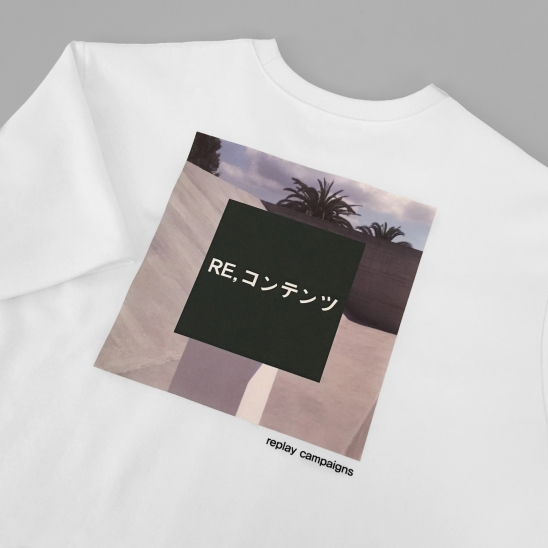replay campaign 1/2 tee (green)