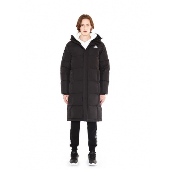 KAPPA Logo Down Coat BLACK