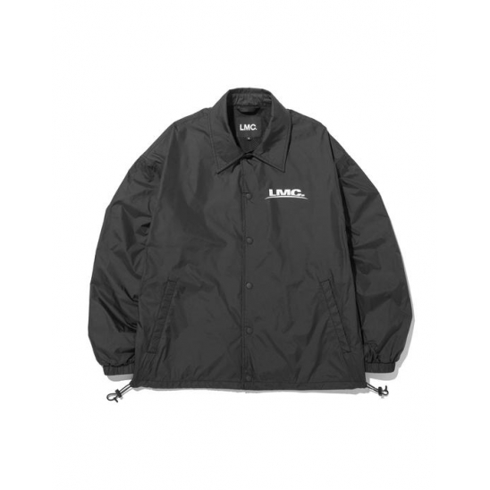 LMC TECH LOGO COACH JACKET black