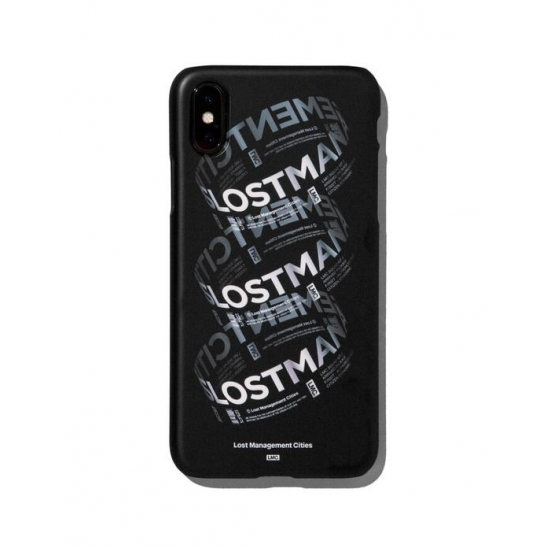 LMC RING LOGO IPHONE X HARD CASE black