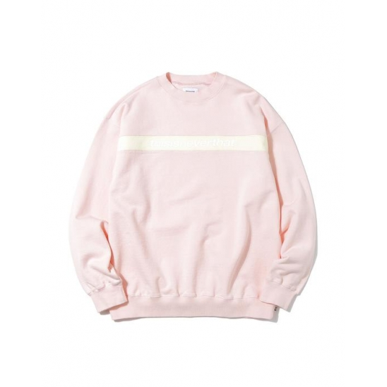 Striped SP Crewneck Light Pink