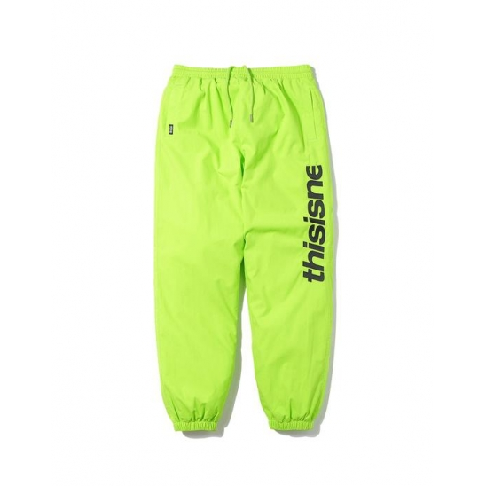 HSP Warm Up Pant Lime Green