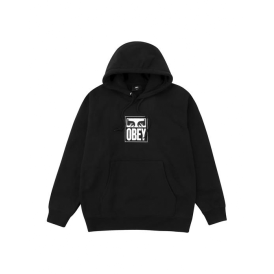 SPLIT EYES HOOD BLACK