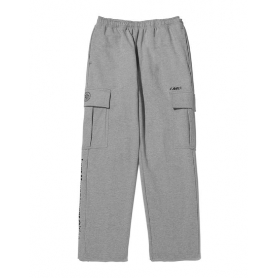 LMC SIDE POCKET SWEAT PANTS heather gray