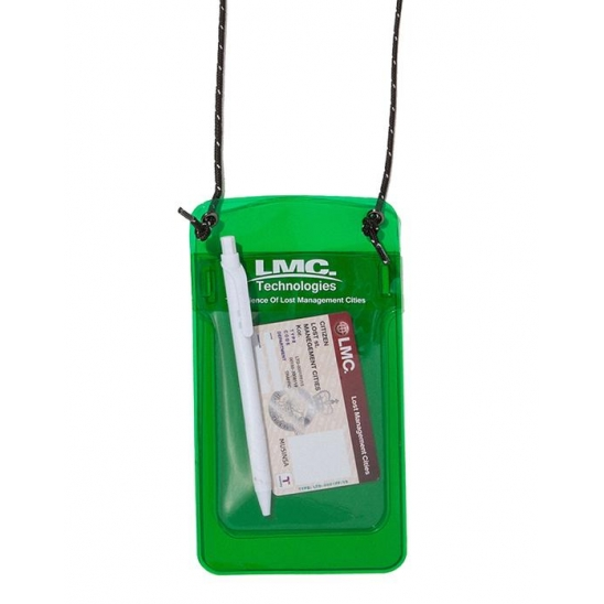 LMC PVC POCKET PROTECTOR POUCH green