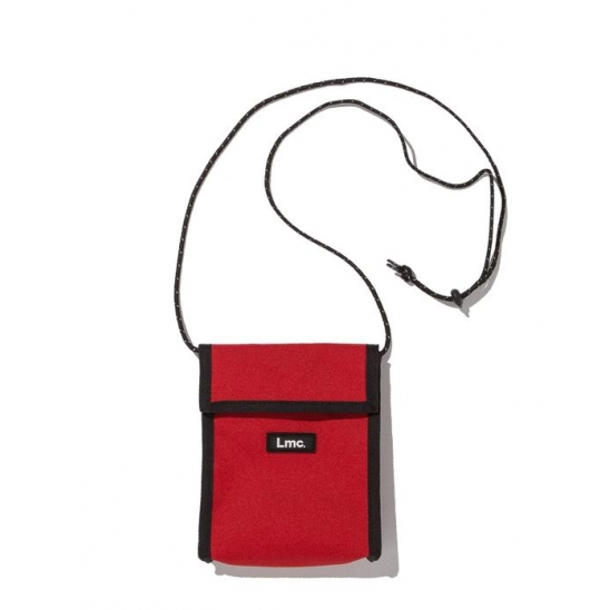 LMC NECK POUCH BAG red