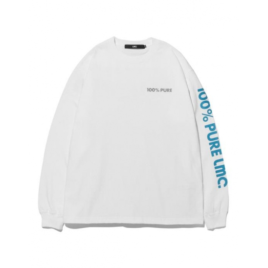 LMC PILL LONG SLV TEE white
