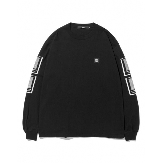 LMC FINGERPRINT LONG SLV TEE black
