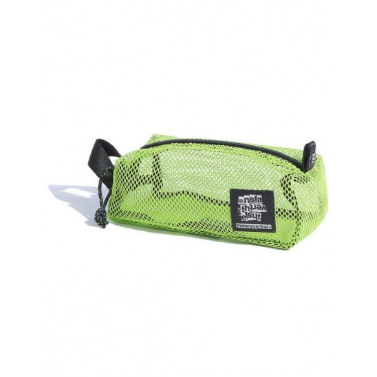 Mesh Box Pouch Lime