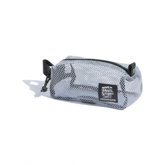 Mesh Box Pouch Light Grey