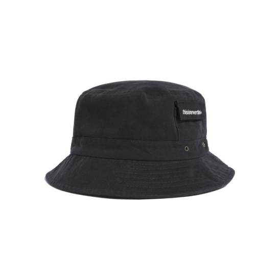Fishing Bucket Hat Black