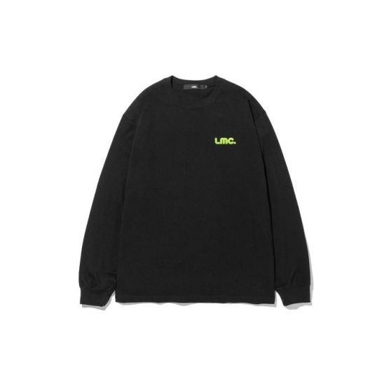 LMC BUBBLE LONG SLV TEE black