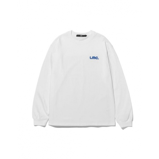 LMC BUBBLE LONG SLV TEE white