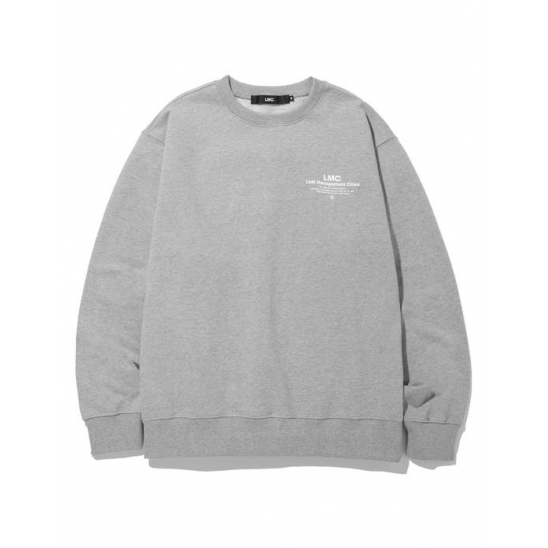 LMC INFLUENCER SWEATSHIRT heather gray