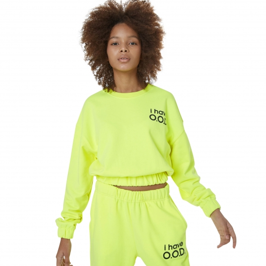 WOMEN_I HAVE OOD MTM (NEON YELLOW)