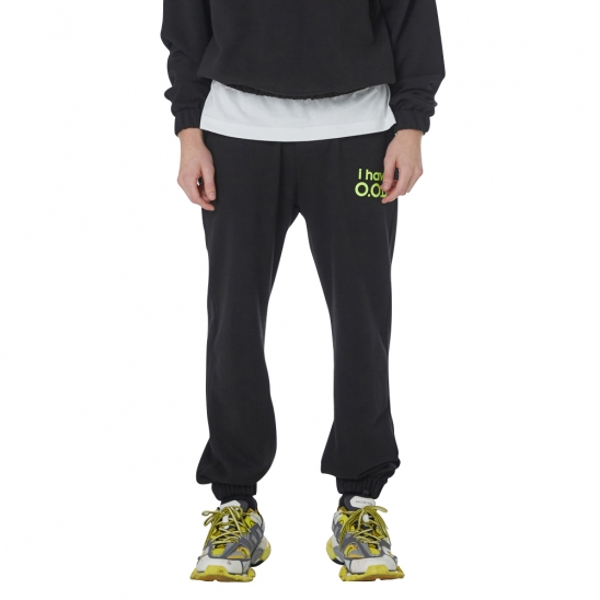 MEN_I HAVE OOD SWEATPANTS (BLACK)