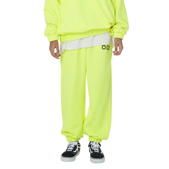 MEN_I HAVE OOD SWEATPANTS (NEON YELLOW)
