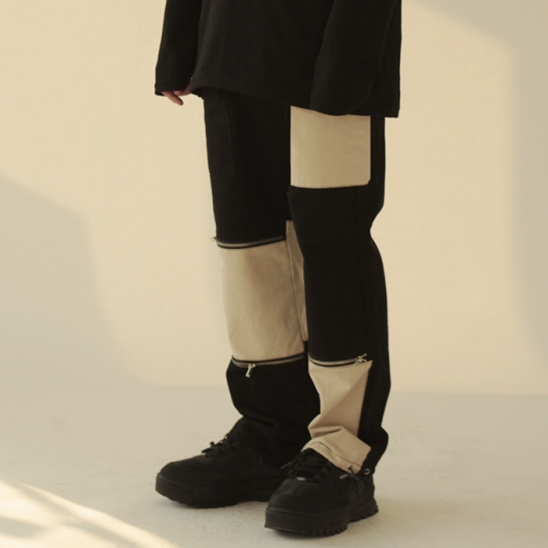 COLOR POINT STRING WIDE & JOGER PANTS (챔피온 COTTON)