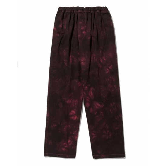 LMC TIE DYE EASY PANTS red