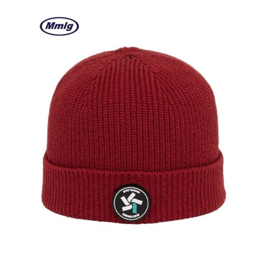 [Mmlg] S/B KNITCAP (RED)