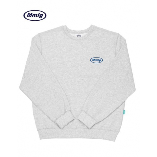 [Mmlg] MMLG SWEAT (MELANGE WHITE)